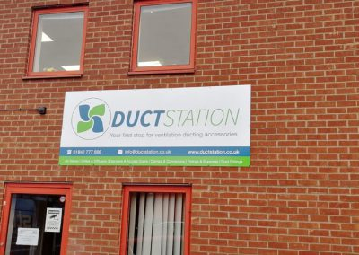 DuctStation External Sign