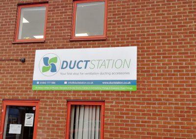 DuctStation External Sign